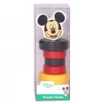 Derrson Disney Dřevěné chrastítko Mickey Mouse
