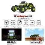 WL TOYS Buggy 12427 1:12 s osvětlením + náhradní akumulátor ZDARMA
