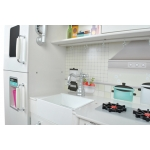 Malatec XXL Dětská dřevěná kuchyňka KD4582 bílá