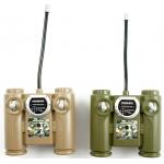 iMex RC infra tanky Tiger a Abrams 1:24 RTR 2v1 hnědá, zelená