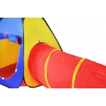 ISO Dětský stan 3v1 barevný