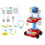 ISO 6114 Lékařský vozík s vyšetřením EKG
