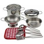 Doris kovové nádobí do kuchyňky hrnce na vaření
