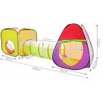 Malatec 2880 stan a hrací domeček s tunelem včetně 200 míčků