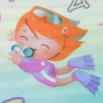 KIK Hrací termo podložka pro děti mořský svět 170 x 190 cm