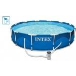 Intex Metal Frame Pool s kartušovou filtrací 366 x 76 cm 28212GN