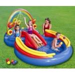 Intex 57453 Dětské hrací centrum Duha  297x193x135 cm
