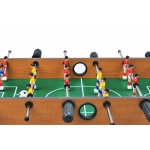 MAX Mini stolní fotbal fotbálek s nožičkami 70 x 37 x 25 cm světlý