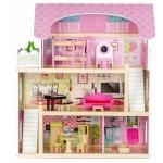 Derrson dřevěný domeček pro panenky Mia