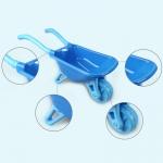 iMex Velký set s kolečkem a doplňky modrý