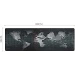 Podložka pod myš XXL mapa světa 30x90cm