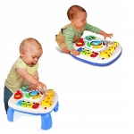 Doris edukační stoleček s piankem 2v1