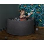 iMex 2839 Suchý bazén s míčky šedý