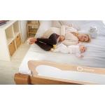 Lionelo EVA zábrana na postel šedá