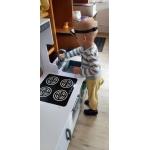 Derrson XXL Dětská dřevěná kuchyňka s příslušenstvím Sofia