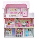 Derrson dřevěný domeček pro panenky Annet W5172