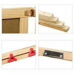 Doris oboustranná dřevěná tabule stojanová