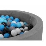 Malatec 9271 Míčky do bazénu 200 ks 5cm modročerná