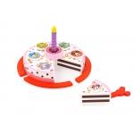 Derrson Disney Dřevěný krájecí dort Minnie a přátelé
