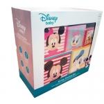 Derrson Disney Dřevěná motorická věž z kostek Mickey