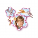 Bunnies králíček s magnety 2-balení
