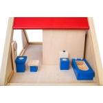 Doris dřevěný domeček pro panenky s nábytkem Agatha