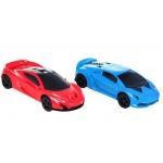 iMex Toys Největší autodráha GIGANT se zatáčkami 1420cm + 2 auta