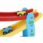 Kruzzel 9349 Barevná závodní dráha 4 autíčka