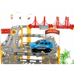 ISO 9434 Autodráha se dvěma autíčky 236 dílů