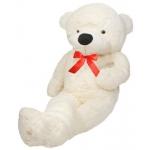 Velký plyšový medvěd bílý 130cm