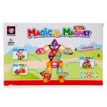 KIK Magical Magnet M032B Magnetická stavebnice 3 38 dílů, KX9815