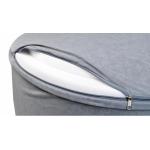 iMex 3478 Suchý bazén s míčky šedý
