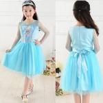 KIK Elsa šaty kostým Frozen Ledové království 120 cm - model 9213