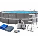 INTEX 26334 Bazén Ultra XTR Frame 6.1m x 1.22m s pískovou filtrací