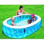 Bestway 54066 bazén Elliptic 234 x 152 cm