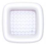Bestway 51116 bazén bílý čtverec 86 x 86 x 25 cm