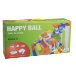 Kuličková dráha - stavebnice Crazy Happy Ball 200 dílů