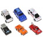 ISO 9503 Čtyřpatrová garáž parkoviště dráha a 6 aut