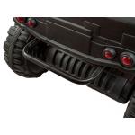 iMex elektrická čtyřkolka BDM 4x4, kožená sedačka červená