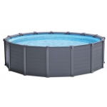 Intex GRAPHITE GRAY PANEL POOL 478 x 124 cm