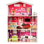 Derrson XXL dřevěný domeček pro panenky Charlotte