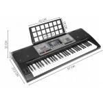 ISO 9411 Elektronické klávesy 61 kláves černá