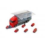 KIK KX6681 Kamion s autíčky Hasiči
