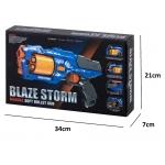 KIK KX6585 pistole Blaze Storm + 20 nábojů