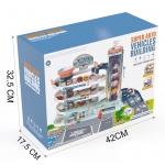 iMex Toys XL garáž s interaktivním posuvným výtahem