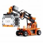 Double Eagle Stavebnice technic R/C kamion, jeřáb, vysokozdvižný vozík 10v1