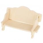 ISO 3D dřevěné puzzle nábytek pro panenky 34ks