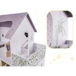 KIK Domeček pro panenky s příslušenstvím 6278 šedý 70cm