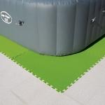 Bestway 58636 izolační pěnová podložka 9 ks pod bazén 78 x 78 cm