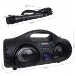 iMex 12276 Přenosný bluetooth reproduktor ZQS-4215 s mikrofonem